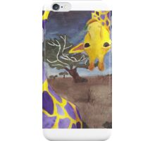 Curious Giraffe iPhone Case/Skin