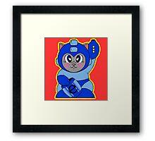 Mega Neko Framed Print