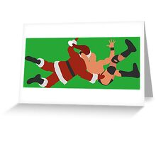 XMAS OUTTA NOWHERE!! Greeting Card
