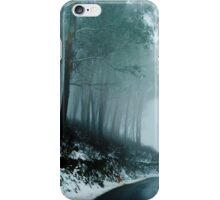 Into a dark cold place iPhone Case/Skin
