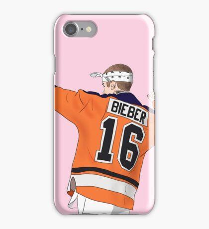 Bieber Purpose Tour Hockey iPhone Case/Skin