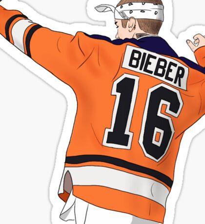 Bieber Purpose Tour Hockey Sticker