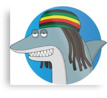Reggae Shark Metal Print