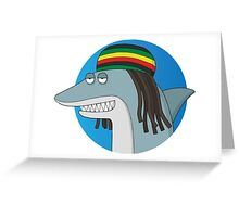 Reggae Shark Greeting Card