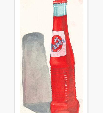 vintage fanta bottle Sticker