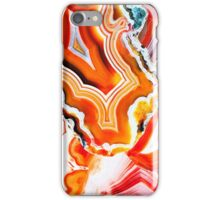 Agate the Colorful Layers of Earth iPhone Case/Skin