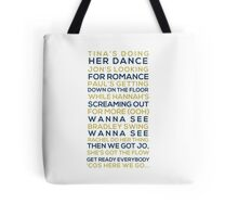 S Club Party Tote Bag