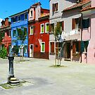 Burano In Colour by hans p olsen