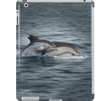 Striped Dolphins iPad Case/Skin
