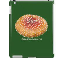 Amanita muscaria Fly Agaric Cap photograph iPad Case/Skin