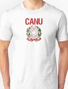 Canu Surname Italian T-Shirt