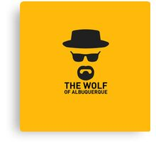 The Wolf Of ABQ Canvas Print