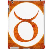 Taurus and Sacral Chakra  Abstract Spiritual Artwork  iPad Case/Skin