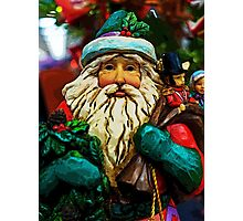 Father Christmas Photographic Print