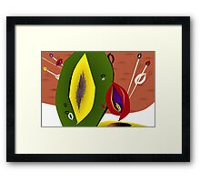 Skewered Fruit Framed Print
