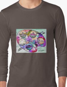 Sicily on a palette. Long Sleeve T-Shirt