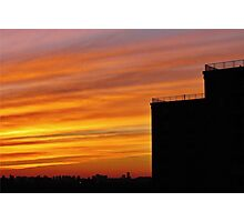 Sunset in the Big City, NYC Photographic Print