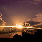 Sunset_Sun Rays  by Linda Yates