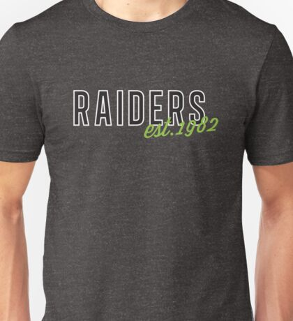 Raiders est.1982 Unisex T-Shirt