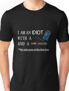 Idiot with a box and a screwdriver Unisex T-Shirt