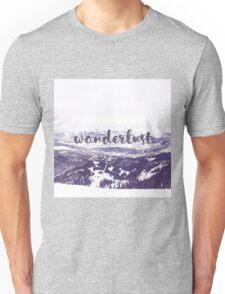 Wanderlust - Mountain Scene Unisex T-Shirt