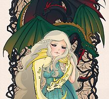 Mother of Dragons by aluminumbunny