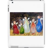 angels for Christmas 2014 iPad Case/Skin