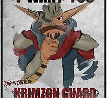 Krimzon Guard by Joe Hickson