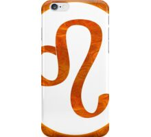 Leo and Sacral Chakra Abstract Spiritual Artwork  iPhone Case/Skin