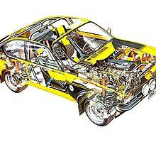 Opel Kadett GTE by Zack Kalimero