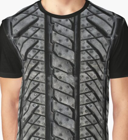 Rubber Tire Threads Graphic T-Shirt