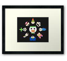 Simple Koopalings Framed Print