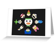 Simple Koopalings Greeting Card