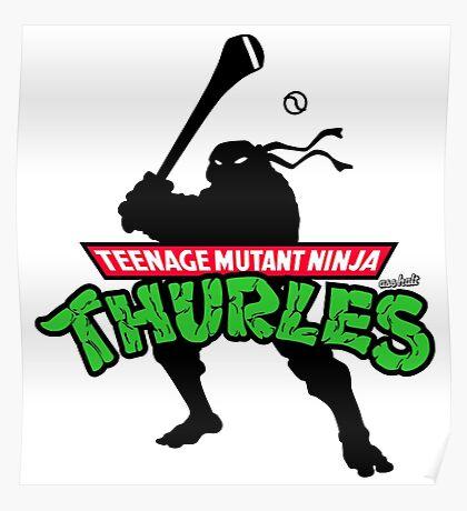 Teenage Mutant Ninja Thurles Poster