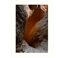 Bungle Bungles Slot canyon Art Print