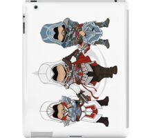 Ezio Auditore da Firenze Chibi Assassin Trio iPad Case/Skin