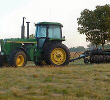 Iowa Tractor by Keala