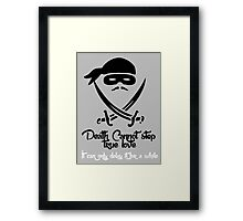 Death Cannot Framed Print
