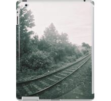 Railway track iPad Case/Skin