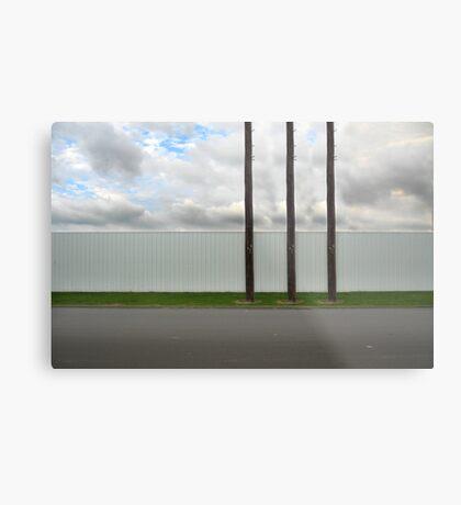 3 poles Metal Print