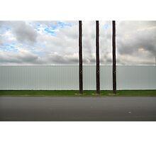 3 poles Photographic Print