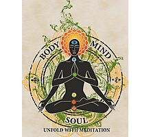Mind Body and Soul KUNDALINI Photographic Print