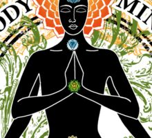 Mind Body and Soul KUNDALINI Sticker