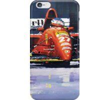 1995 Canada GP Ferrari 412T2 J.Alesi #27 Winner  iPhone Case/Skin