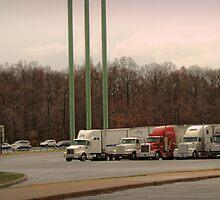 Truck Stop by Paul Vanzella