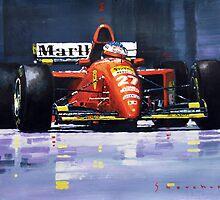 1995 Canada GP Ferrari 412T2 J.Alesi #27 Winner  by Yuriy Shevchuk