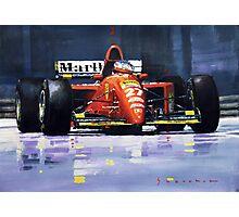 1995 Canada GP Ferrari 412T2 J.Alesi #27 Winner  Photographic Print