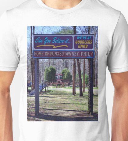 Gobbler's Knob Unisex T-Shirt