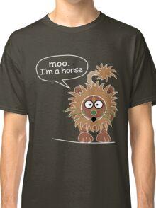 Moo. I'm a horse Classic T-Shirt