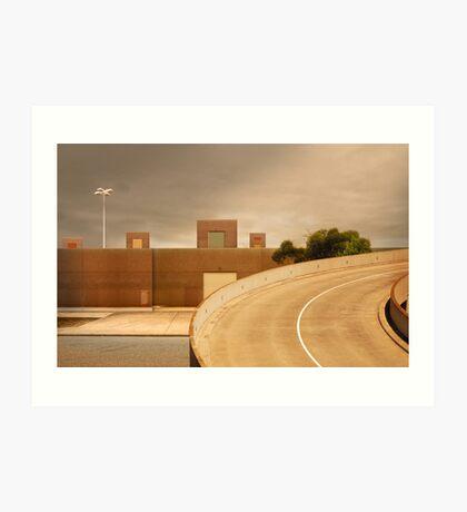 factory expressway Art Print